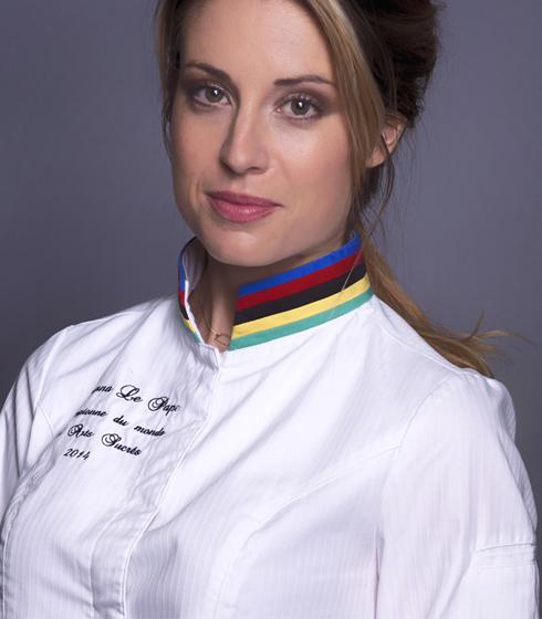 Johanna le Pape championne du monde de dessert