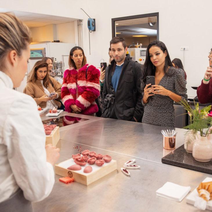 Johanna Le Pape Masterclass Chocolate Academy Magnum