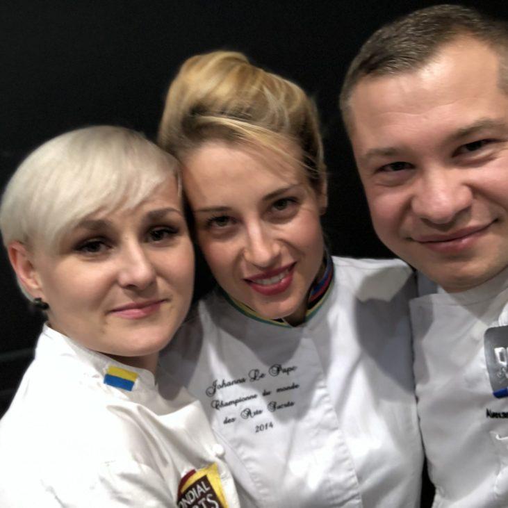 Johanna Le Pape - Masterclass Kiev Ukraine Ecole DGF