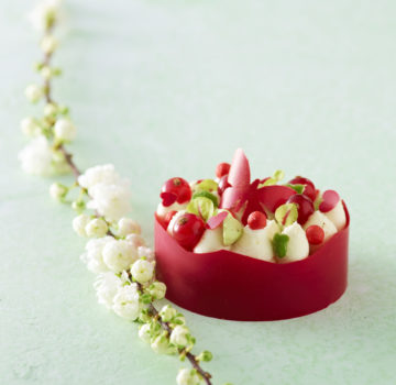 Johanna Le Pape création Tartelette fraise