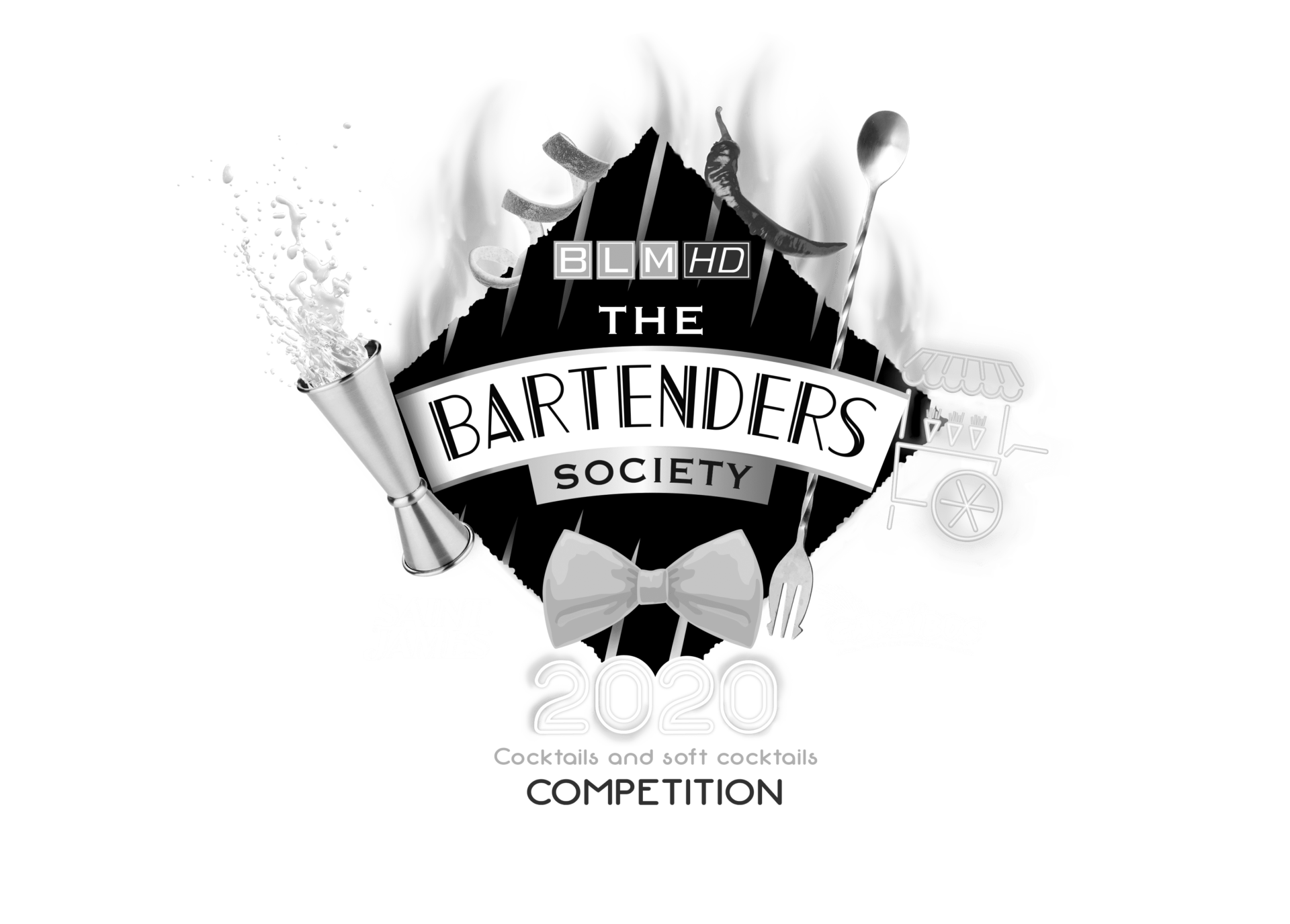 the bartenders society logo